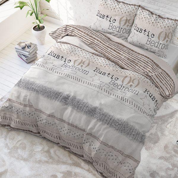 Sleeptime Elegance Rustic Stay Lits-jumeaux (240 x 220 cm + 2 kussenslopen)