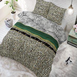 Sleeptime Elegance Trendy Marble Green 1-persoons (140 x 200/220 cm + 1 kussensloop)
