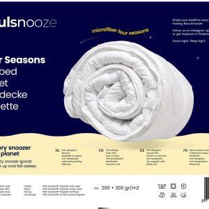 Soulsnooze - 4 Seizoenen Dekbed - 240 x 220 cm