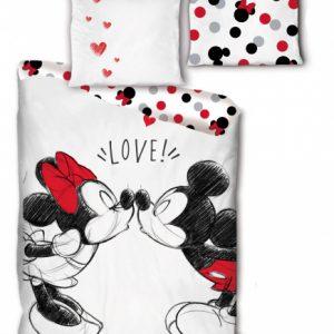 Arditex dekbedovertrek Mickey & Minnie 240 x 220 cm Co/textiel