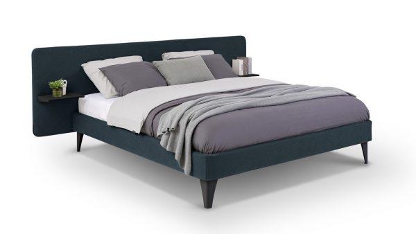 Bed Bädd Forma - 140 x 200 cm - luca royal blue