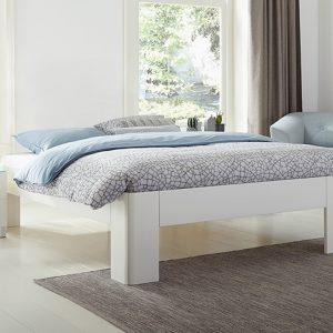 Bed Fresh 450 Met Bossflex 600 Vlak En Gold Pocket Foam Matras - 140 x 200 cm - wit