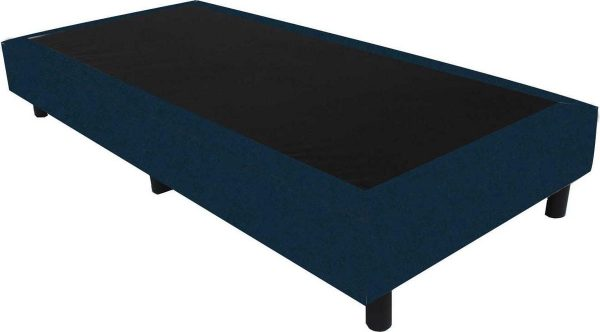 Bedworld Boxspring 70x200 - Velours - Blauw (ML77)