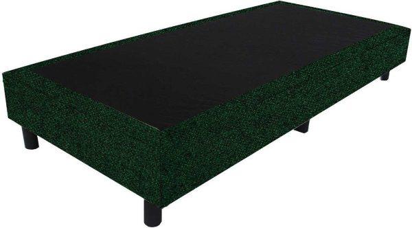 Bedworld Boxspring 70x210 - Tweedlook - Donker groen (M37)