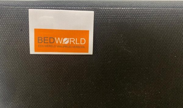 Bedworld Boxspring 70x210 - Waterafstotend grof - Donker beige (P80)
