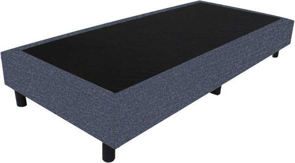 Bedworld Boxspring 70x210 - Wol look - Antraciet (WL97)
