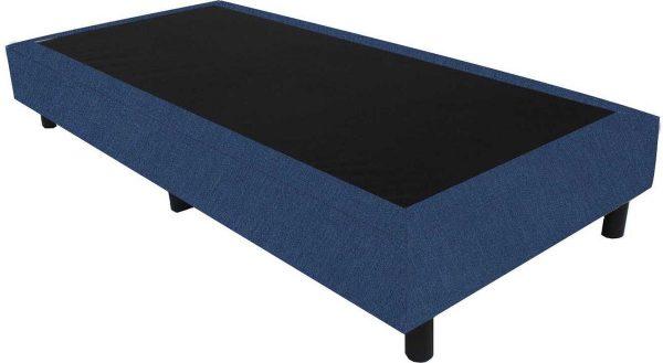 Bedworld Boxspring 70x220 - Suedine - Blauw (ON80)