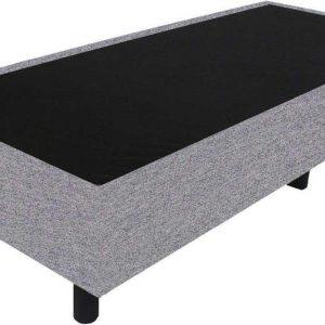 Bedworld Boxspring 80x210 - Waterafstotend grof - Licht grijs (P92)