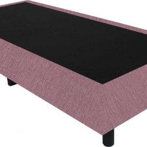 Bedworld Boxspring 80x220 - Suedine - Oud roze (ON69)