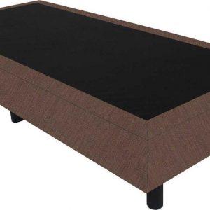 Bedworld Boxspring 80x220 - Suedine - bruin (ON29)