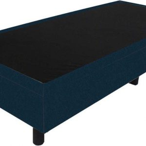 Bedworld Boxspring 80x220 - Velours - Blauw (ML77)
