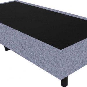Bedworld Boxspring 80x220 - Waterafstotend grof - Donker grijs (P89)