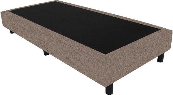 Bedworld Boxspring 80x220 - Waterafstotend grof - Licht bruin (P15)