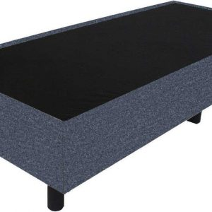 Bedworld Boxspring 80x220 - Wol look - Antraciet (WL97)