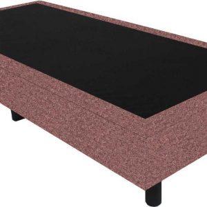 Bedworld Boxspring 80x220 - Wol look - Zalm roze (WL52)