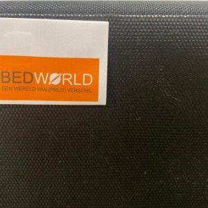 Bedworld Boxspring 90x200 - Waterafstotend grof - Donker beige (P80)