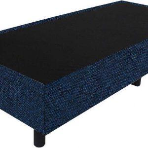 Bedworld Boxspring 90x210 - Tweedlook - Donker blauw (M79)