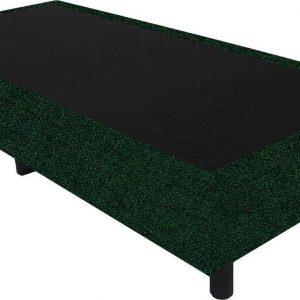Bedworld Boxspring 90x210 - Tweedlook - Donker groen (M37)