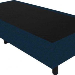 Bedworld Boxspring 90x210 - Velours - Blauw (ML77)