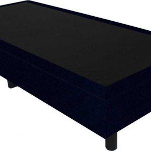 Bedworld Boxspring 90x210 - Velours - Donker blauw (ML79)