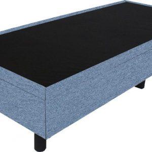 Bedworld Boxspring 90x210 - Waterafstotend grof - Licht blauw (P73)