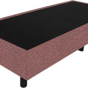 Bedworld Boxspring 90x210 - Wol look - Zalm roze (WL52)