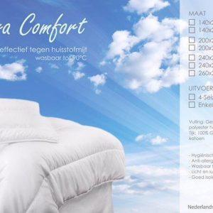 Cara Comfort Dekbed 4-Seizoenen - 240x200 cm