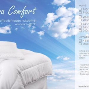 Cara Comfort Dekbed 4-Seizoenen - 240x220 cm