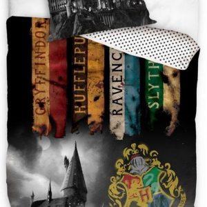 Carbotex Dekbedovertrek Harry Potter 140 X 200/90 Cm Zwart
