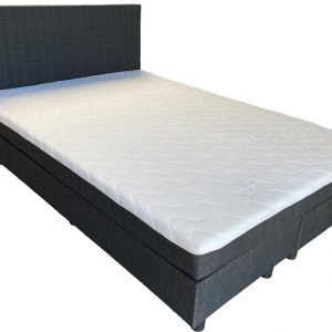 Complete boxspring Babette - 140x200 - Incl. pocketvering matras - Antraciet