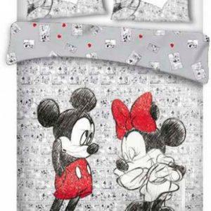 Disney dekbedovertrek Mickey & Minnie 240 x 220 cm