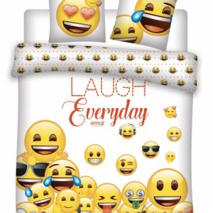 Emoji dekbedovertrek Emoji 240 x 220 cm PE