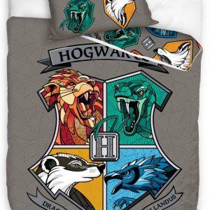 Harry Potter Dekbedovertrek Junior 140 X 200/70 X 90 Cm Katoen
