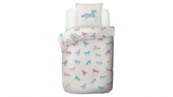 Kinderdekbedovertrek Paard - 140 x 200/220 cm - multicolour