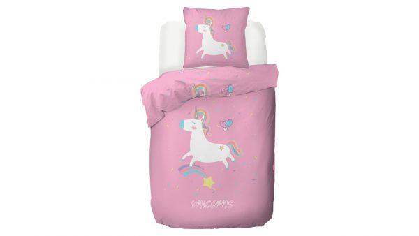 Kinderdekbedovertrek Unicorn - 140 x 200/220 cm - multicolour