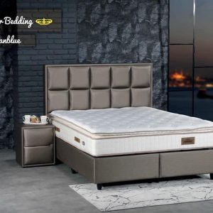 Opberg boxspring Scarlet - 2 Persoons - 180x200 - Meubel masters