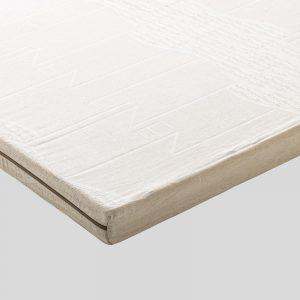 Organic Cotton Linen 100% - HR Koudschuim Topper 5cm - 90x200
