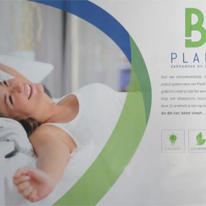 PlanB Katoenen Dekbed (B-keus) - Enkel - 100% Katoen - 240x220 cm