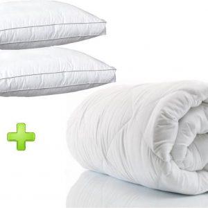 Select Duopack - 1x Hotel dekbed 3DTEX enkel 400g. 240x220 cm plus 2x Box hoofdkussen 50x60 cm