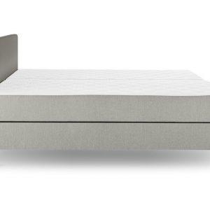 Tempur® Boxspring One™ Plain Vlak - 140 x 200 cm - stone grey