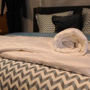 Wollen dekbed 4-Seizoenen   Loiva 100% zuiver scheerwol 240 x 200 cm - Lits-jumeaux