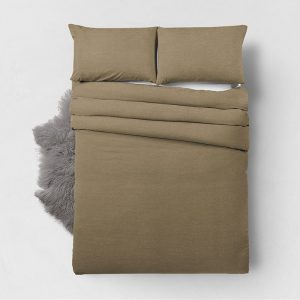 Zensation Bamboo Touch - Taupe 1-persoons (140 x 200/220 cm + 1 kussensloop)