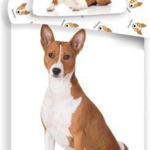 Animal Pictures Dekbedovertrek Basenji Hond - 140 x 200 cm + 70 x 90 cm - Katoen