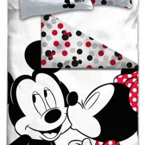Aymax dekbedovertrek Minnie en Mickey 140 x 200 cm