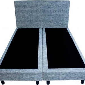 Bedworld Boxspring 120x200 - Waterafstotend grof - Licht blauw (P73)