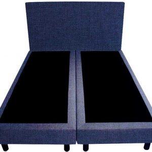 Bedworld Boxspring 120x210 - Linnenlook - Donker blauw (S80)