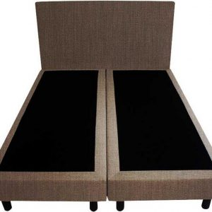 Bedworld Boxspring 120x210 - Seudine - bruin (ONC29)
