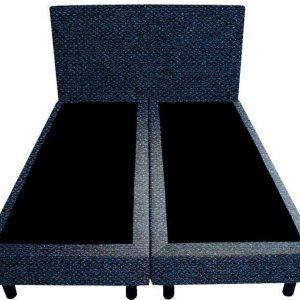 Bedworld Boxspring 120x210 - Tweedlook - Donker blauw (M79)