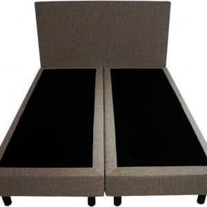 Bedworld Boxspring 120x210 - Velours - Bruin (ML20)