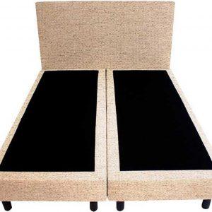 Bedworld Boxspring 120x210 - Waterafstotend grof - Beige (P05)